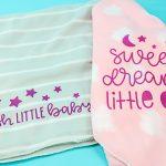 dollar store baby blankets