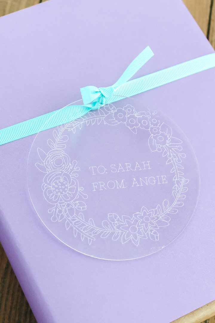 cricut maker engraving acrylic