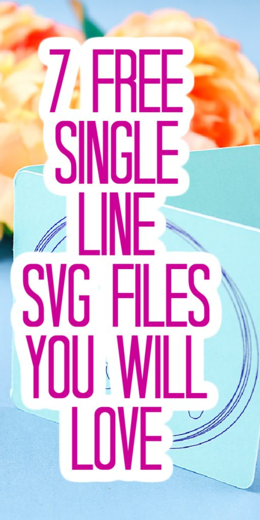 free single line svg cut files