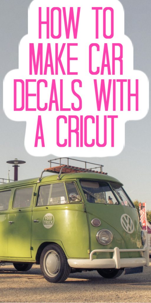 Use your Cricut machine to make car decals with this tutorial! Includes a comparison of the best materials so your decals last as long as possible! #cricut #cricutcreated #cricutmade #cardecals