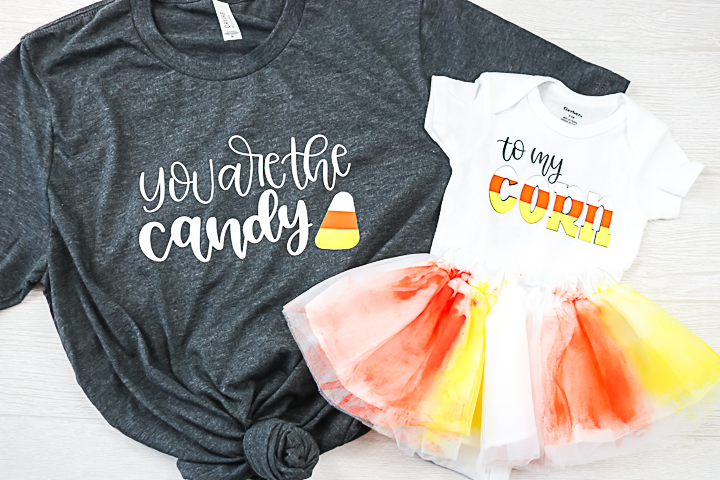 you are the candy to my corn shirts for mom and baby