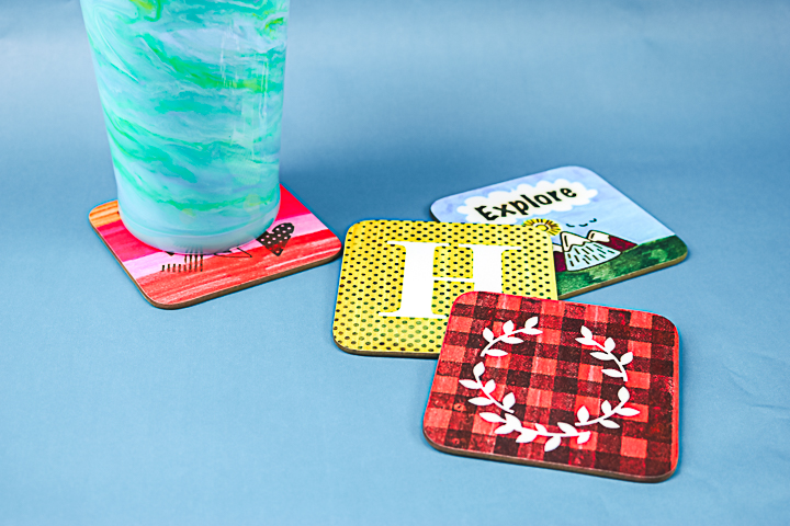 how to make coasters with sublimation ink