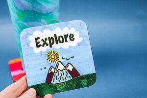 explore sublimation coaster