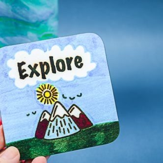 explore sublimation coaster