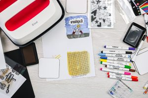 all over design on with sublimation ink pad