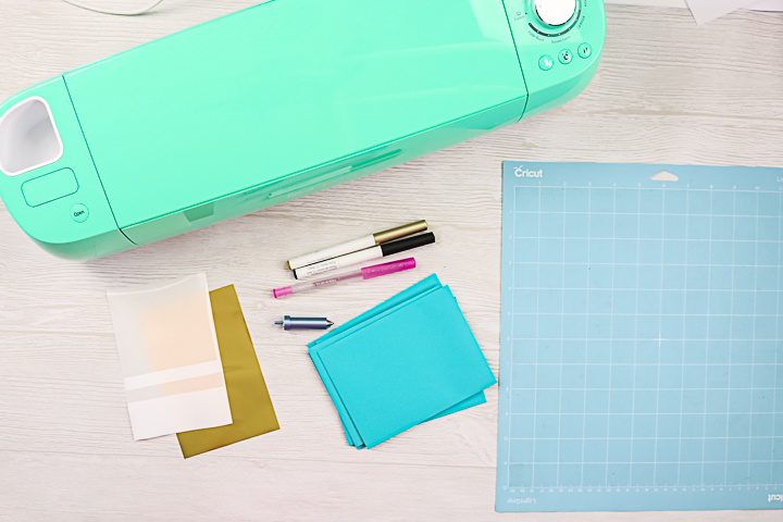 supplies for using your cricut to address envelopes