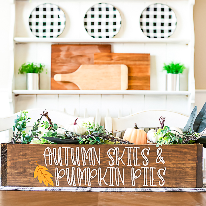 autumn skies and pumpkin pies svg
