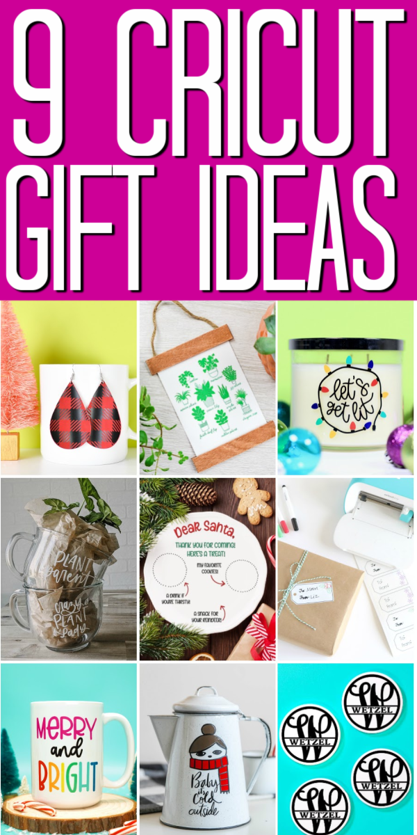 9 Cricut gift ideas