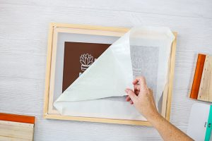 adhesive vinyl silk screen