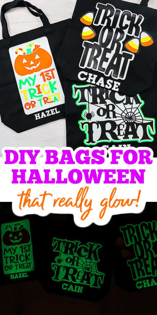 DIY Halloween Sacs personnalisés avec des noms