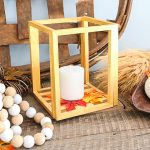 How to Make a Wood Dollar Store Lantern