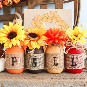 mason jar craft for fall