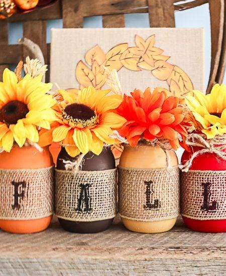mason jar craft for fall