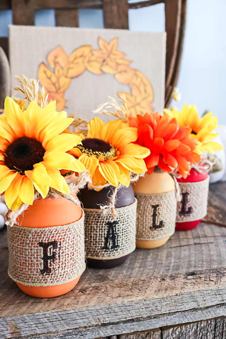 jars for fall decor