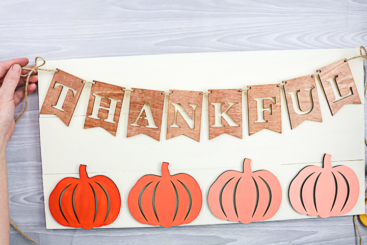 making a thankful sign