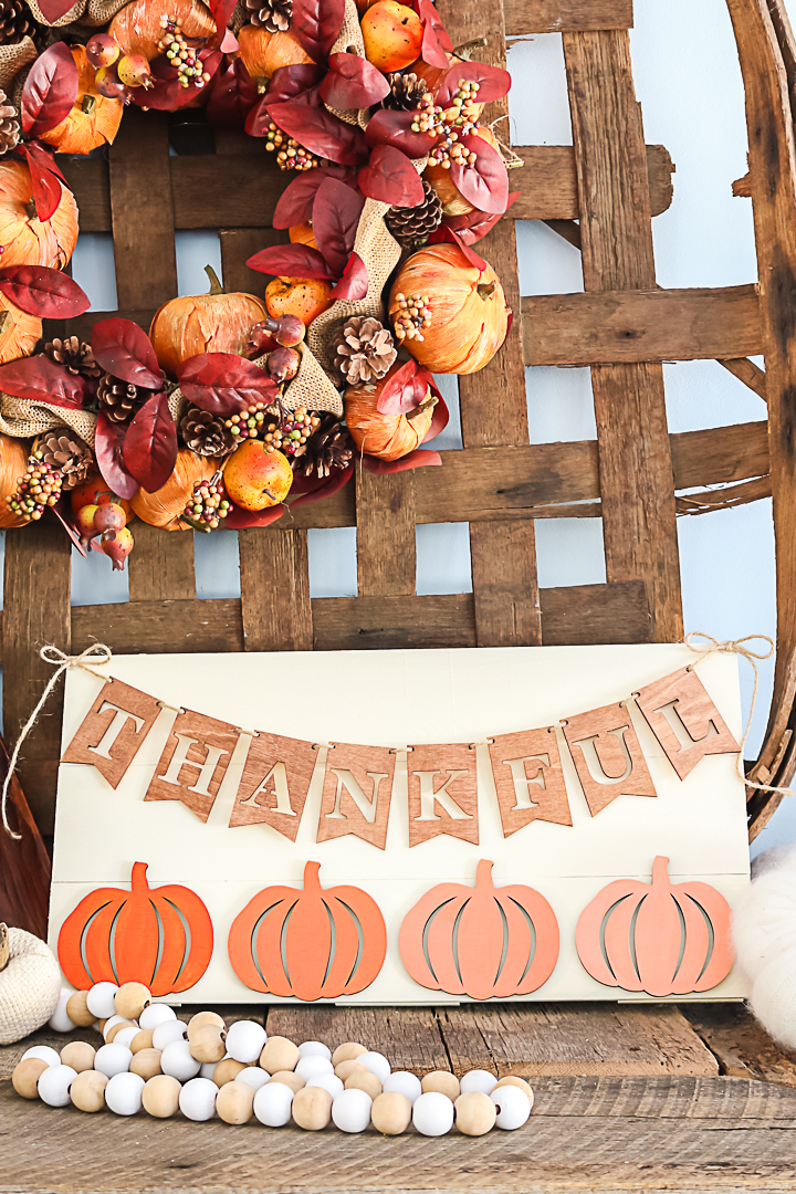 sign for fall decor