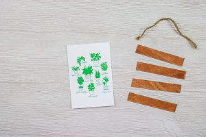 making a wall hanging with a cricut