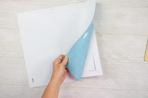 removing project from your cricut mat