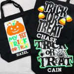 DIY Halloween Bags Personalized with Names