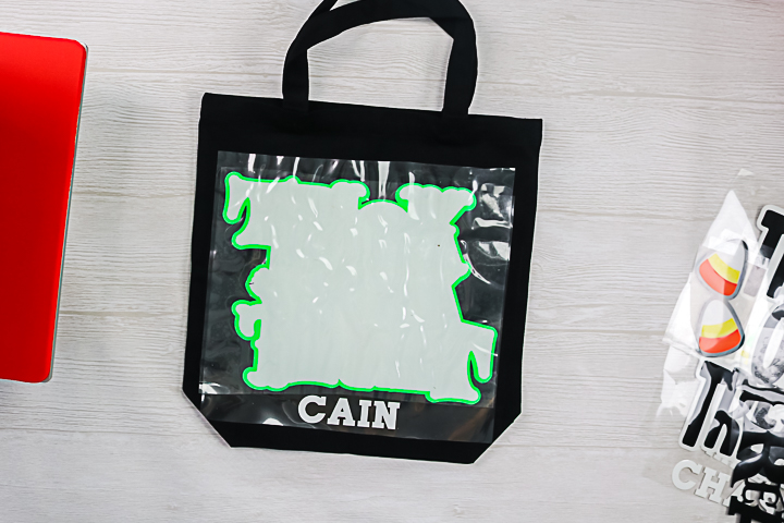 making your own halloween bags