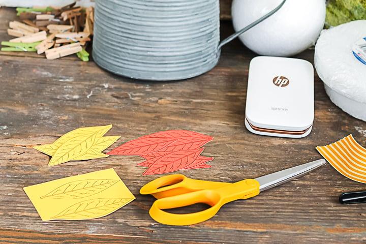 free printable fall leaves