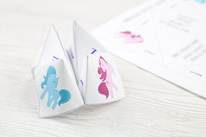 unicorn fortune teller