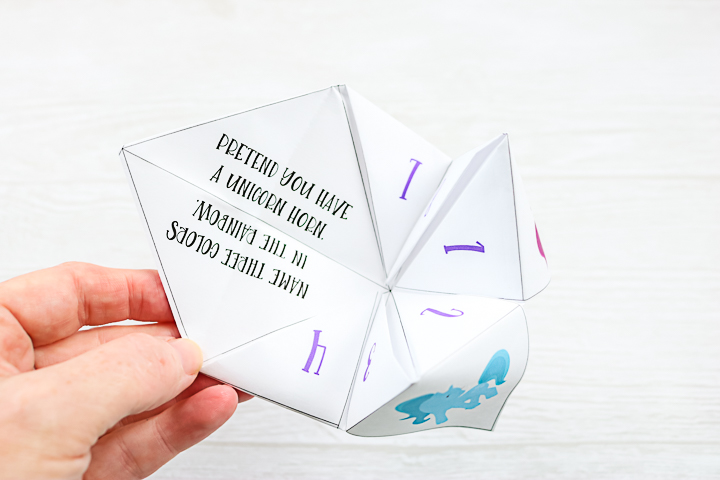 cootie catcher for kids