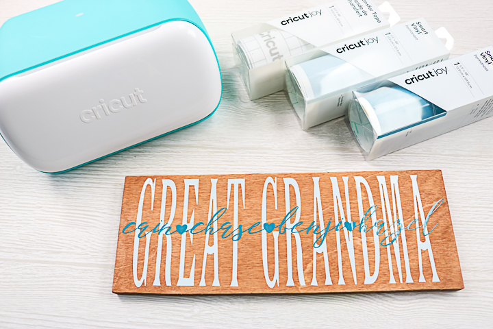 ideas for Cricut DIY grandma gifts