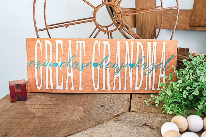 handmade grandma gifts