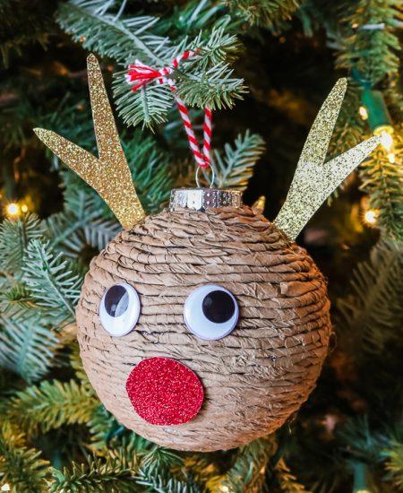 diy reindeer ornament