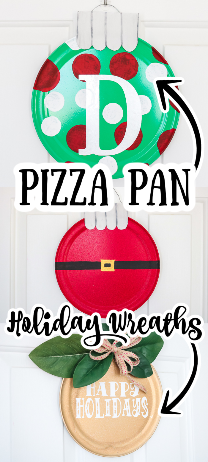 diy pizza pan wreaths dollar store crafts