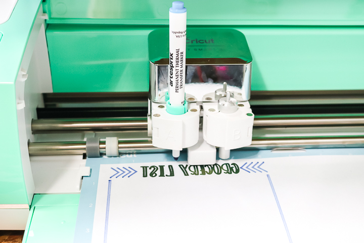 cricut machine writing on copy paper
