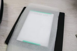 protective paper for sublimation on a blank