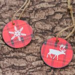 Free Printable Christmas Ornaments for a Rustic Tree
