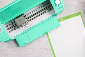 using a cricut explore air 2 to cut flocked iron on