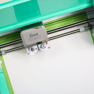cricut machine cutting flocked htv
