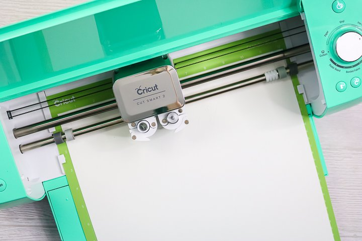 cricut machine cutting flocked htv