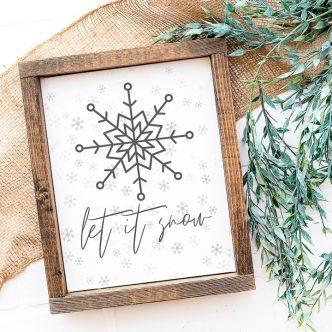 winter printable