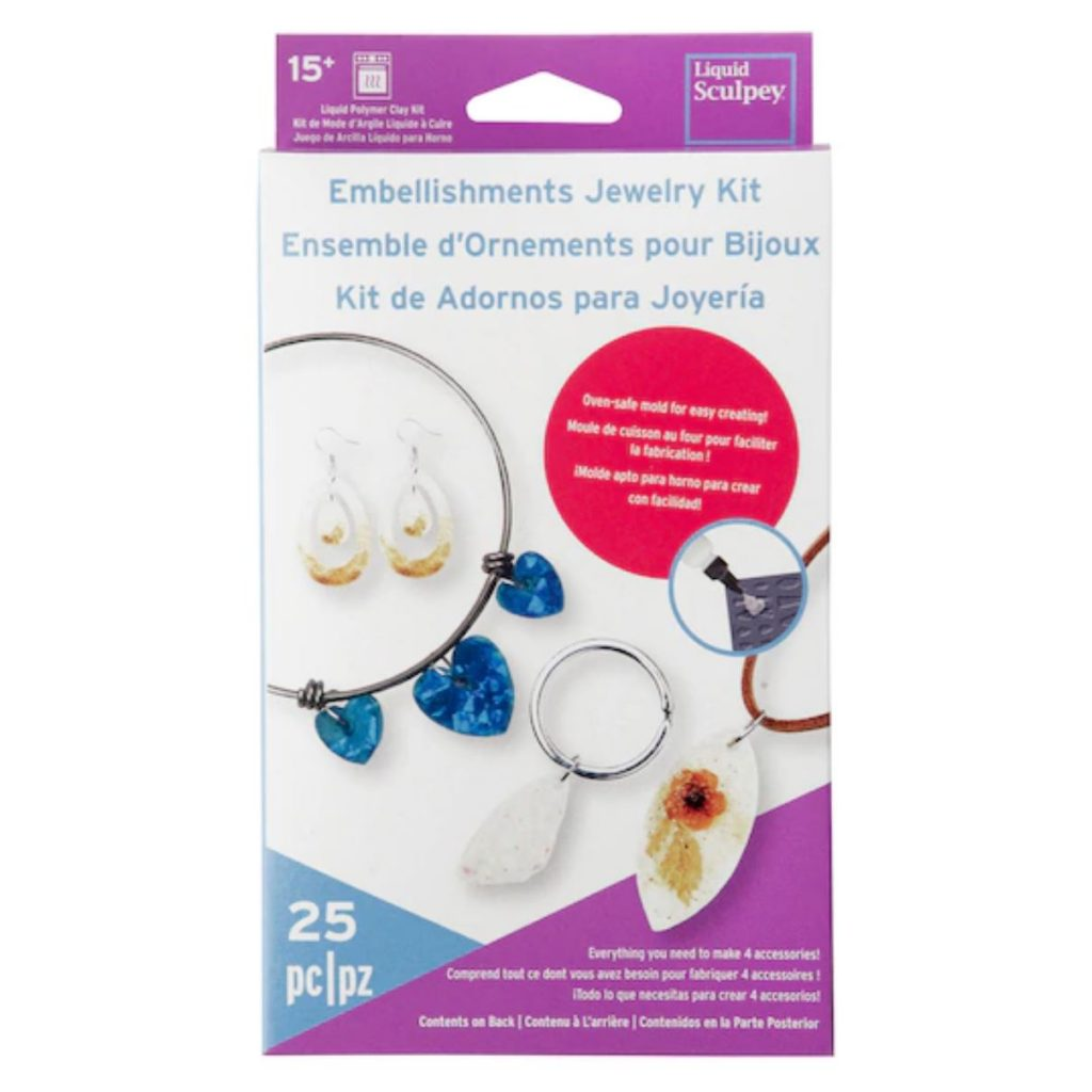 liquid sculpey jewelry kit