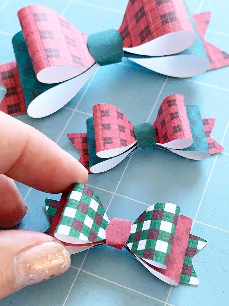 bows made from paper