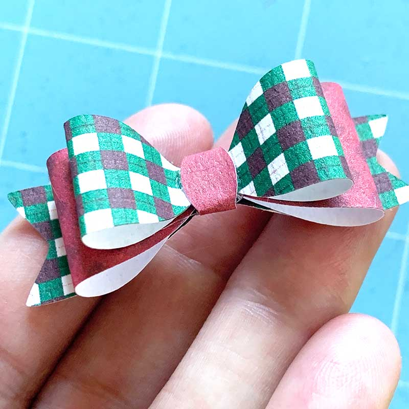 simple paper bow