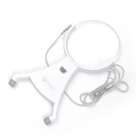 """OttLite® 4"""" Hands-Free LED Magnifier"""