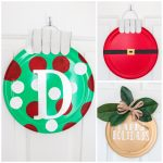 DIY Pizza Pan Wreaths for the Holidays