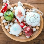 Making Vinyl Christmas Ornaments with a Cricut