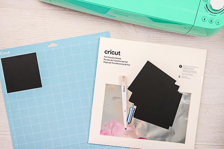 cricut foiling materials
