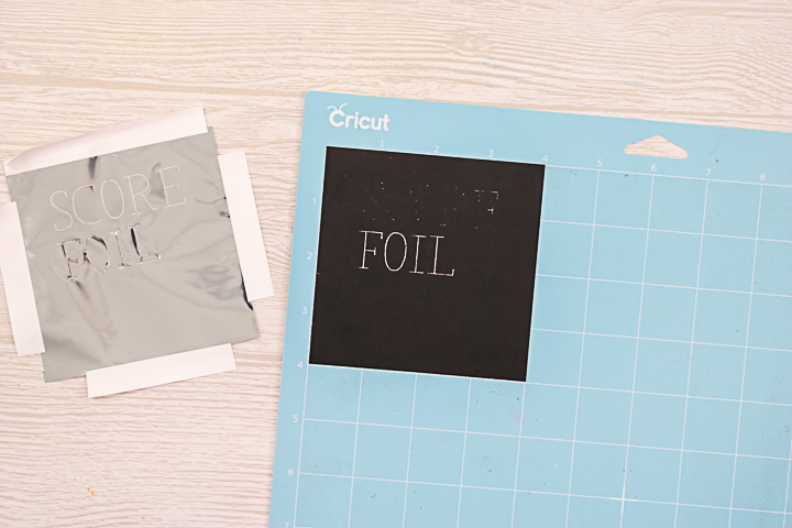 will the scoring stylus work with cricut foil