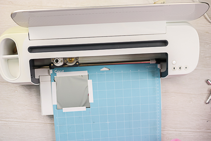 using cricut maker tools to transfer foil