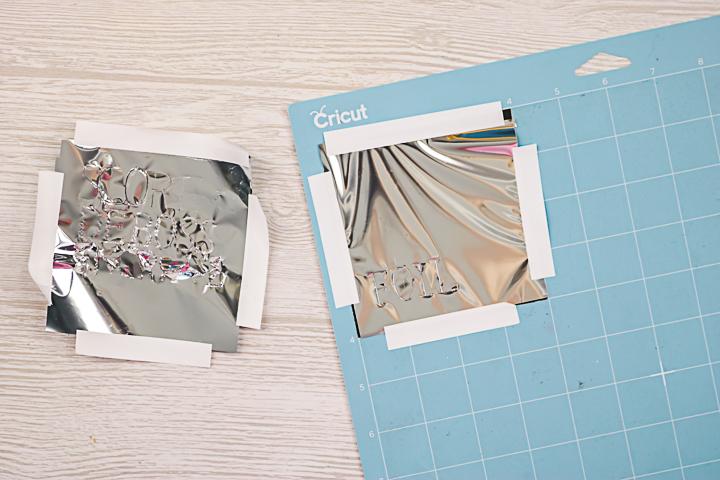 will cricut deboss tool transfer cricut foil