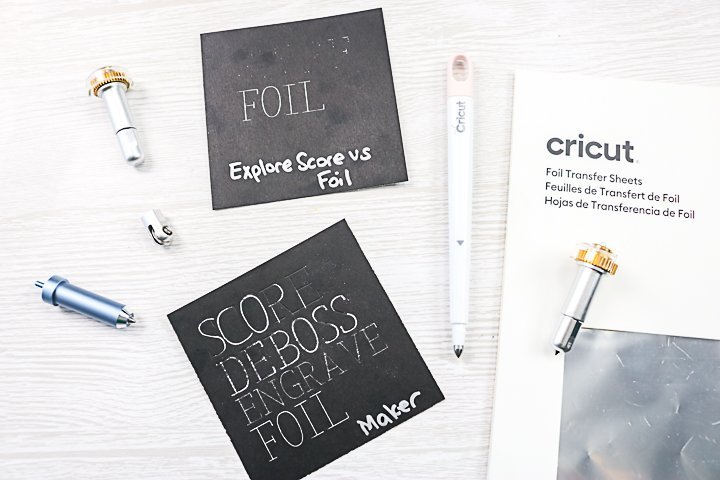 What Tools Will Transfer Cricut Foil?