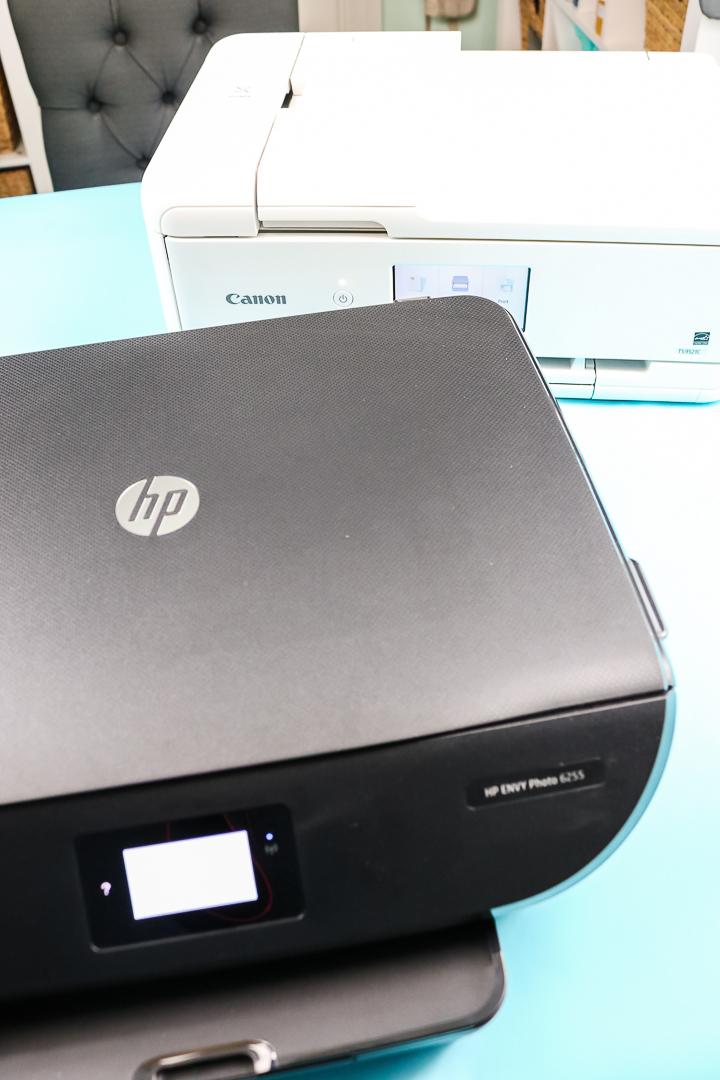 hp versus canon printer